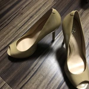 Brand New Vince Camuto Nude Pumps